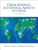 Cover of: Crime Mapping and Spatial Analysis