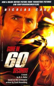 Cover of: Gone in 60 seconds