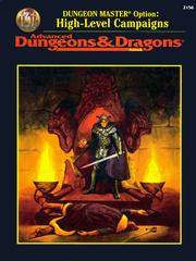 Cover of: Dungeon Master Option: High-Level Campaigns