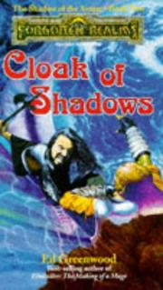 Cover of: Cloak of Shadows