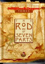 Cover of: The Rod of Seven Parts (AD&D Fantasy Roleplaying)