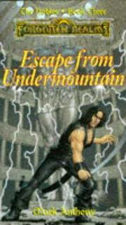 Cover of: Escape from undermountain