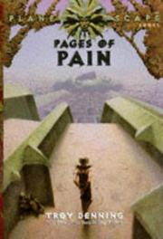 Cover of: Pages of pain