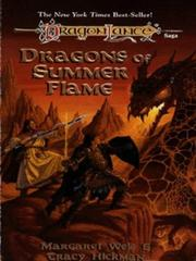 Cover of: Dragons of Summer Flame (Dragonlance Chronicles, Volume 4) | Margaret Weis, Tracy Hickman