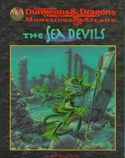 Cover of: The Sea Devils (Advanced Dungeons & Dragons, 2nd Edition: Monstrous Arcana, Accessory/9539)