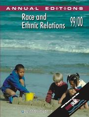 Cover of: Race and Ethnic Relations: 99/00