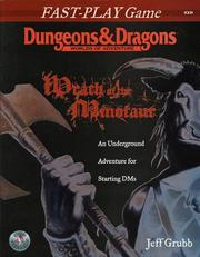Cover of: WRATH OF MINOTAUR (D&D Fast-Play Game)