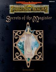 Cover of: Secrets of the Magister (AD&D Fantasy Roleplaying, Forgotten Realms)