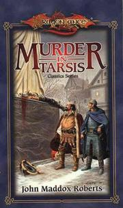 Cover of: Murder in Tarsis (Dragonlance Classics, Vol. 1)
