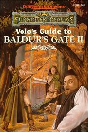 Cover of: Volo's Guide to Baldur's Gate (AD&D/Forgotten Realms)