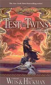 Cover of: Test of the Twins: Volume 3