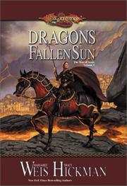 Cover of: Dragons of a fallen sun
