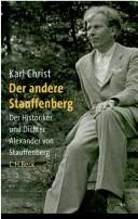 Cover of: Der andere Stauffenberg