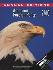 Cover of: American Foreign Policy 99/00