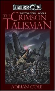 Cover of: The Crimson talisman | Adrian Cole