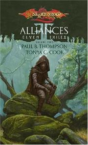 Cover of: Alliances (Dragonlance: Elven Exiles, Vol. 2) | Paul B. Thompson