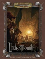 Cover of: Expedition to Undermountain