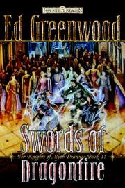 Cover of: Swords of Dragonfire (Forgotten Realms: The Knights of Myth Drannor, Book 2)