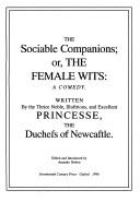 Cover of: The sociable companions, or, The female wits