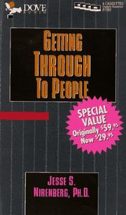 Cover of: Getting Through to People |