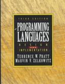 Programming Languages by Terrence W. Pratt, Marvin V. Zelkowitz