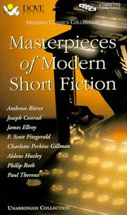 Cover of: Masterpieces of Modern Short Fiction