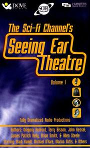 Cover of: Seeing Ear Theatre: A Sci-Fi Channel Presentation