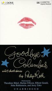 Cover of: Goodbye, Columbus and Five Short Stories | Philip Roth
