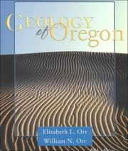 Cover of: Geology of Oregon