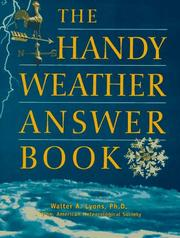 Cover of: The handy weather answer book