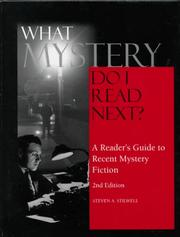 Cover of: What Mystery Do I Read Next? | Steven A. Stilwell