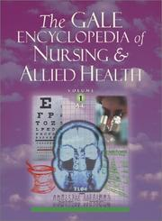 Cover of: The Gale Encyclopedia of Nursing and Allied Health | Kristine M. Krapp
