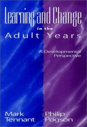 Cover of: Learning and change in the adult years