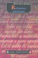 Cover of: Refranero mexicano