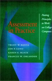 Cover of: Assessment in Practice | Banta and Associates
