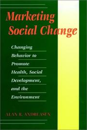 Cover of: Marketing social change
