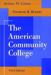 Cover of: American community college | Arthur M. Cohen