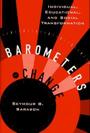 Cover of: Barometers of change