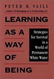 Cover of: Learning as a way of being