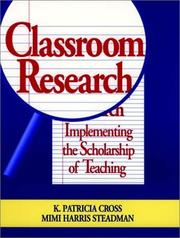 Cover of: Classroom research