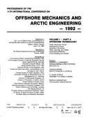 Cover of: Offshore Mechanics and Arctic Volume Parta