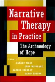 Cover of: Narrative therapy in practice |