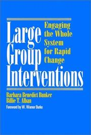Cover of: Large group interventions