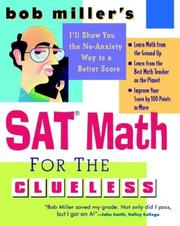 Cover of: SAT Math for the Clueless | Bob Miller