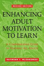 Cover of: Enhancing adult motivation to learn