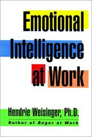 Cover of: Emotional intelligence at work