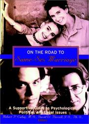 Cover of: On the Road to Same-Sex Marriage |