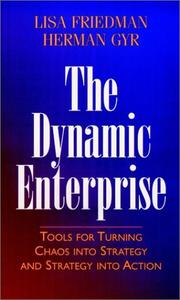 Cover of: The dynamic enterprise