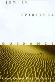 Cover of: Jewish spiritual guidance | Carol Ochs