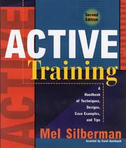 Cover of: Active training | Melvin L. Silberman